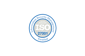 Information Security Management ISO 27001 Certified