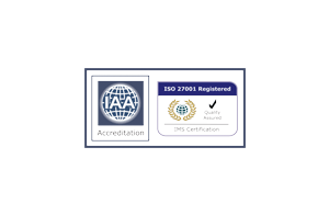 Accreditation IAA ISO 27001 Certified